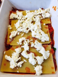 Ina Garten lasagne - assemble 2 photo