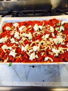 Ina Garten lasagne - assemble 5 photo